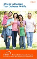 4 Steps to manage your diabetes for life booklet from NDEP