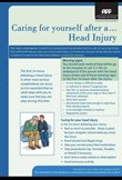 Caring for yourself after a head injury