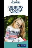 Children's spectacle subsidy