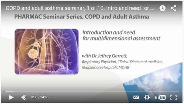 COPD and adult asthma series