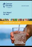 Got water? – A guide for people with dry mouth