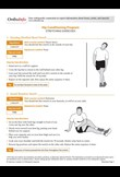 Hip conditioning programme