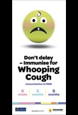 Don't delay – immunise now for whooping cough