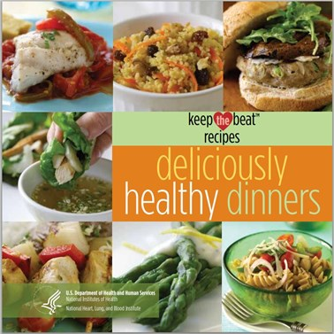 Healthy dinners and recipes from keep the beat