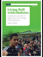 Living well with diabetes plan