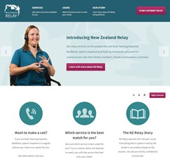 NZ Relay website