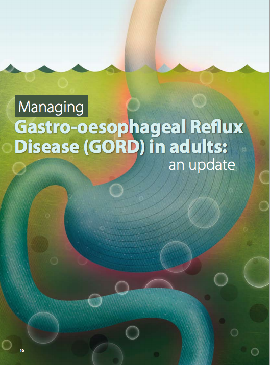Managing gastro-oesophageal reflux disease (GORD) in adults