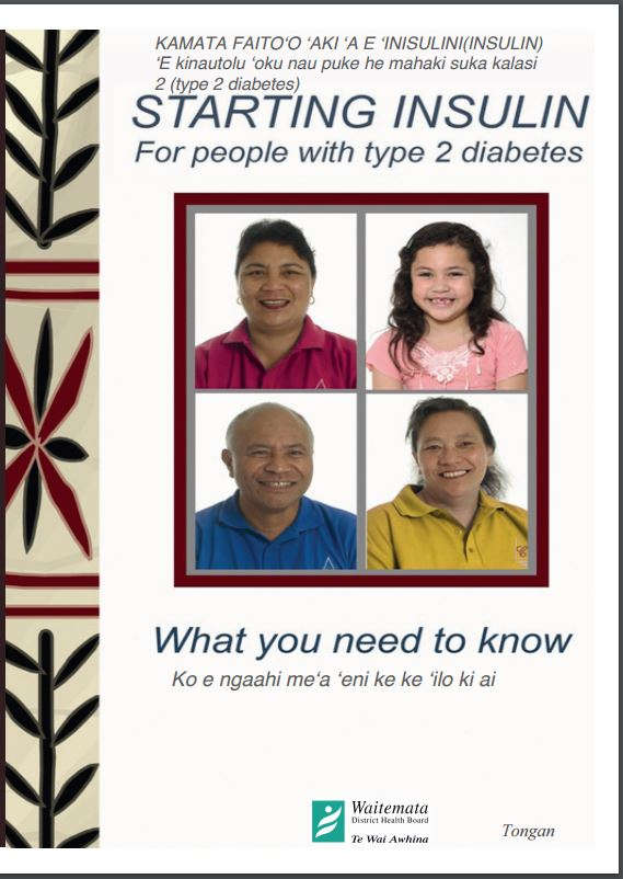 Starting insulin – Tongan