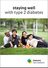 Staying well with type 2 diabetes booklet from Diabetes NZ