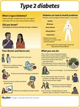 Type 2 diabetes easy to read info sheet