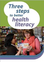Three steps to better health literacy
