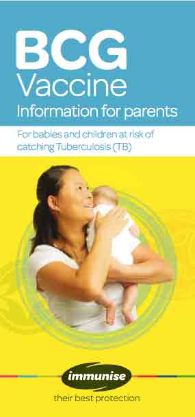 BCG vaccine – information for parents
