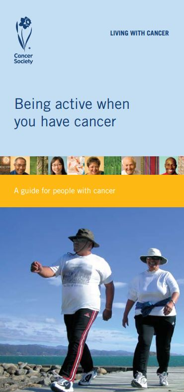 Being active when you have cancer