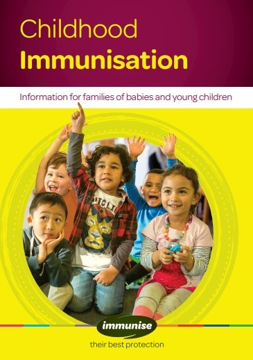 Childhood immunisation booklet