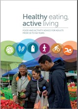 Healthy eating, active living booklet