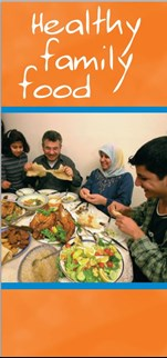 pamphlet Healthy Family Food