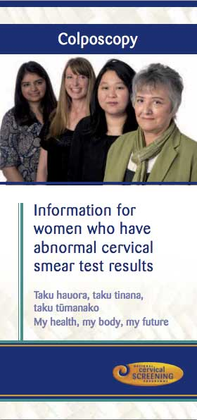 Information for women with abnormal cervical smear test results
