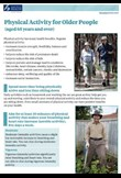 Physical activity for older people (65+)