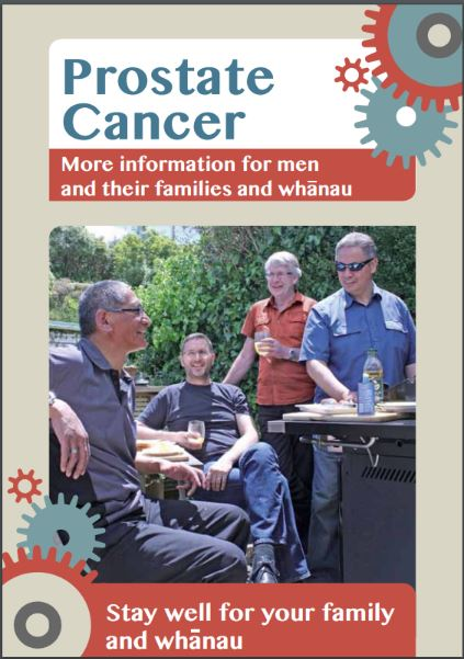 Prostate Cancer: More information for men and their families and whānau