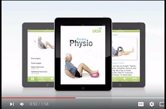 Pocket Physio app – Preview video