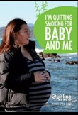 I quit smoking for baby & me
