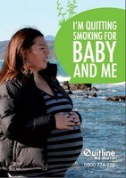 "brochure ""I'm quitting smoking for baby and me"""