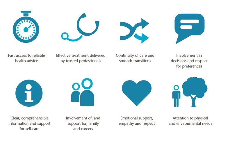 Principles of patient-centred care Picker Institute