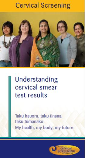 Cervical screening – understanding cervical smear test results