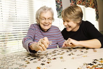 Five fun things to do when visiting someone in a rest home