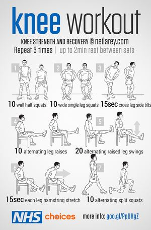Knee workout