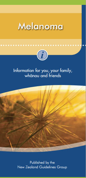 Melanoma – information for you, your family, whänau and friends