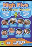 High five for clean hands