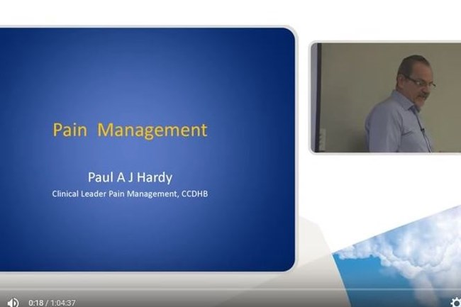 pain management videos