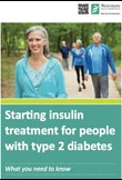 Starting insulin for people with type 2 diabetes