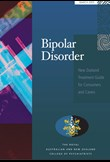 Bipolar disorder – New Zealand treatment guide for consumers and carers