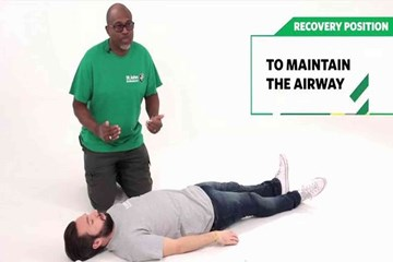 Recovery position guide