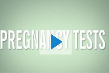 Pregnancy tests video