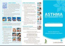 Asthma self management plan