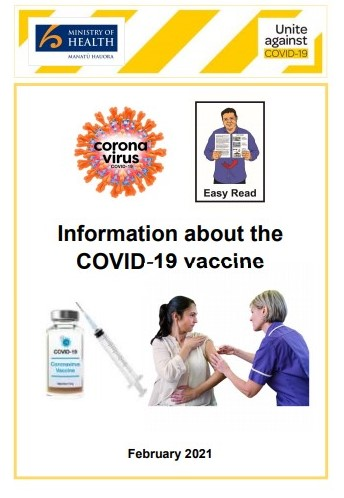 Information about the COVID-19 vaccine