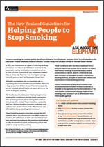 NZ smoking cessation guidelines