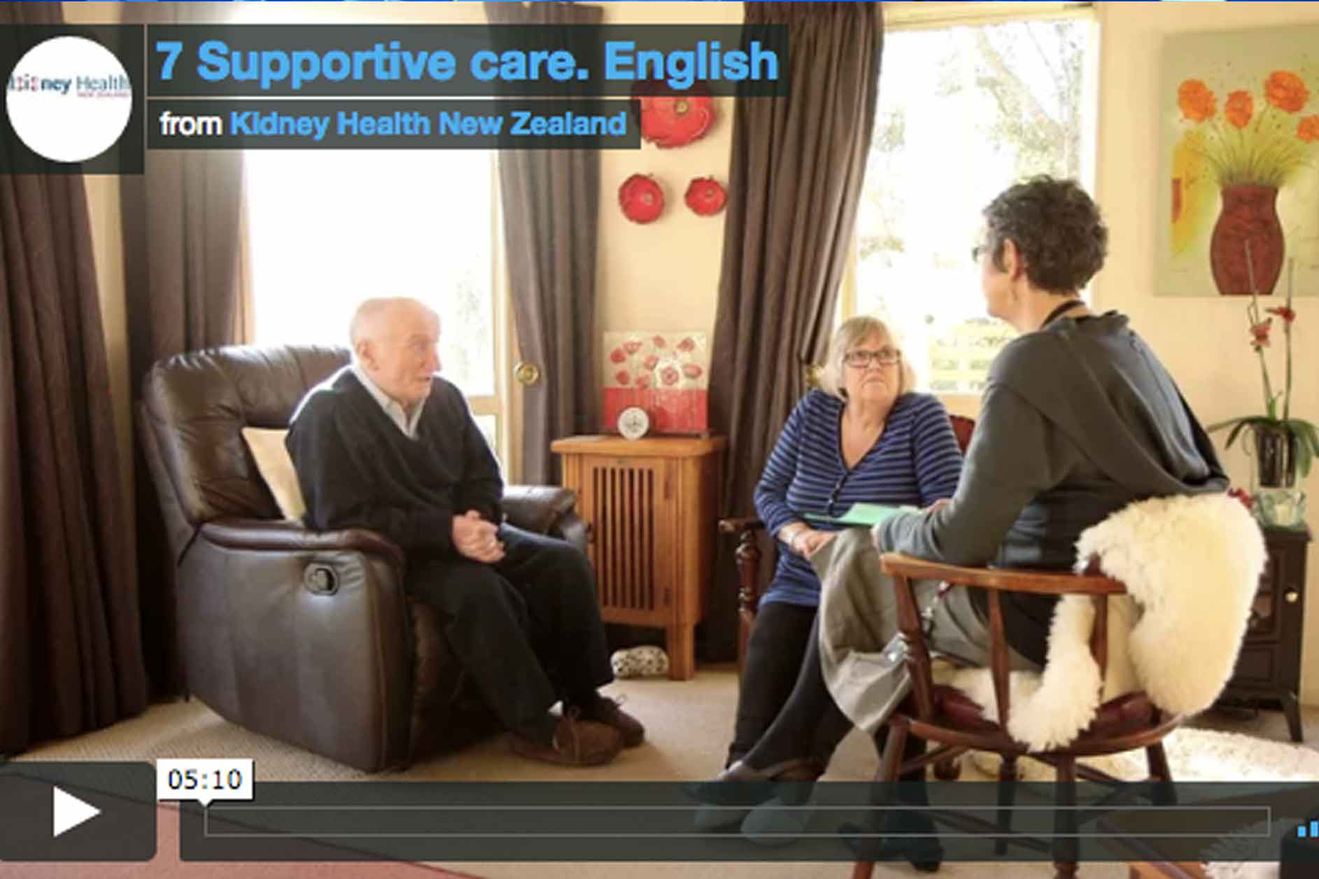 Supportive care for end stage renal disease