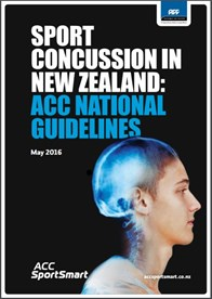 Sport concussion in NZ: ACC National Guidelines 2016