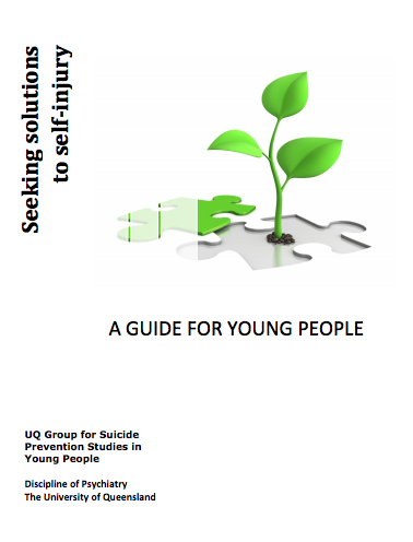 Seeking solutions to self-injury: A guide for young people