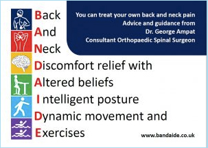 Bandaide – Back & Neck Discomfort Relief with Altered Beliefs, Intelligent Posture, Dynamic Movement & Exercises