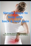 Simple steps to help with back & neck pain