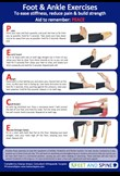 Foot, calf & ankle exercises