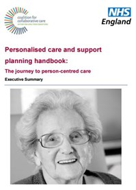 Personalised care & support planning handbook, NHS England