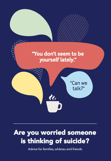 Are you worried someone is thinking of suicide?