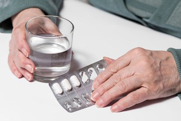 Difficulty swallowing medicines