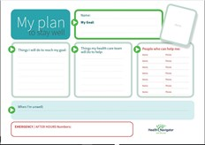 Action plan wall chart - 1 pager